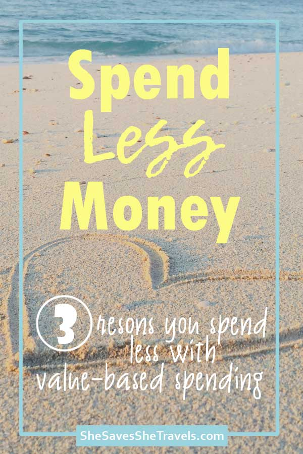 spend less money with value-based spending