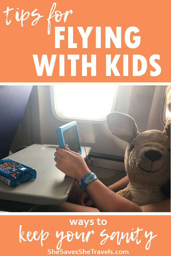tips for flying with kids ways to keep your sanity
