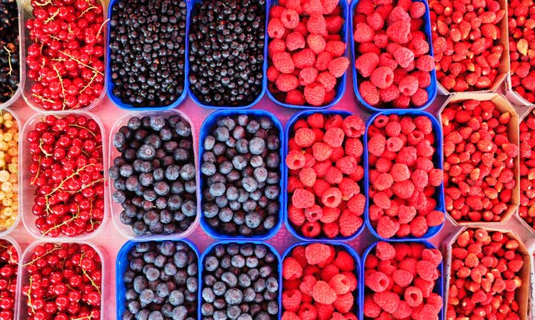 ways to save money like freezing berries