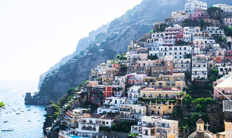travel bucket list Amalfi Coast Positano Italy