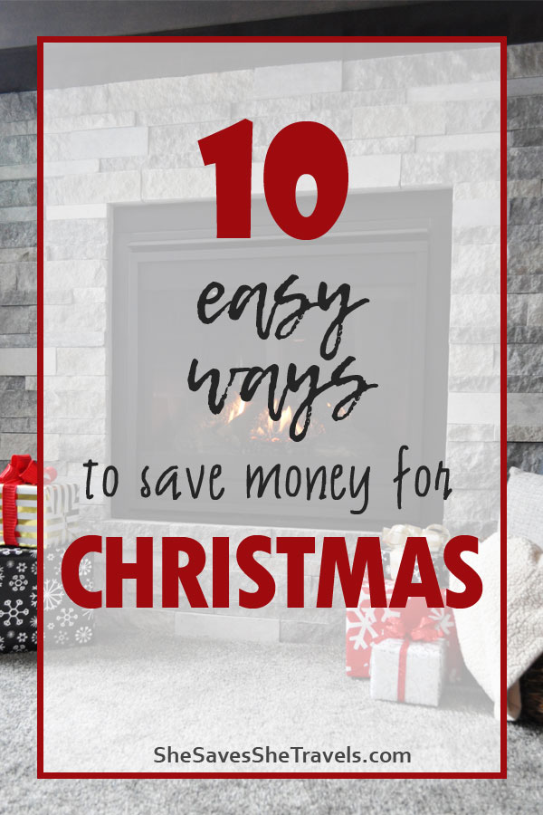 10 easy ways to save money for Christmas