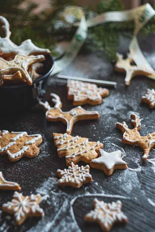 give holiday memories - Christmas cookies