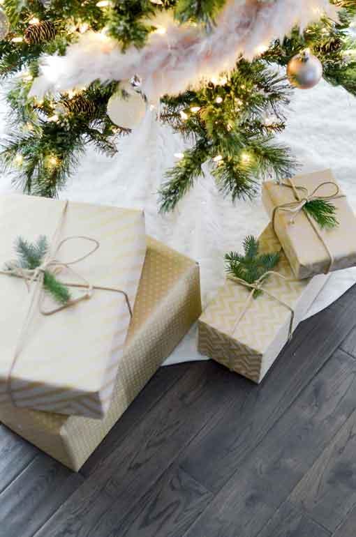 saving money for Christmas gifts