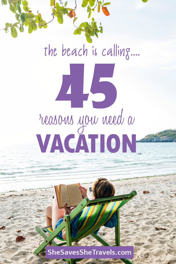the beach is calling 45 signs you need a vacation
