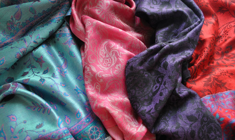 travel to India scarves