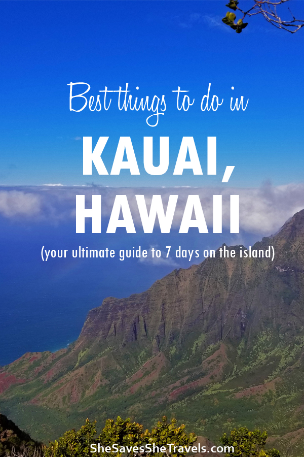 best things to do in Kauai, Hawaii, activities in Kauai