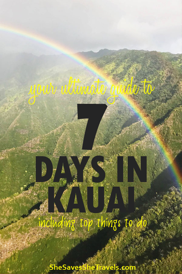 vacation to Kauai Hawaii, what to do in Kauai