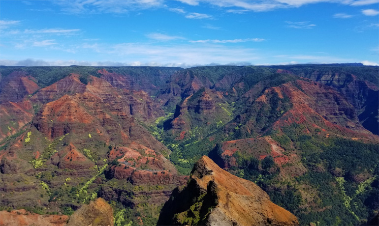 Waimea Canyon in Kauai, top things to do in Kauai, best hiking in Kauai, best hiking trails Kauai, Canyon Trail Waimea Canyon, activities in Kauai