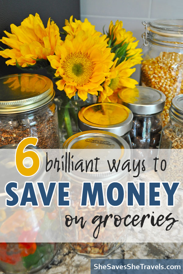 6 brilliant ways to save money on groceries