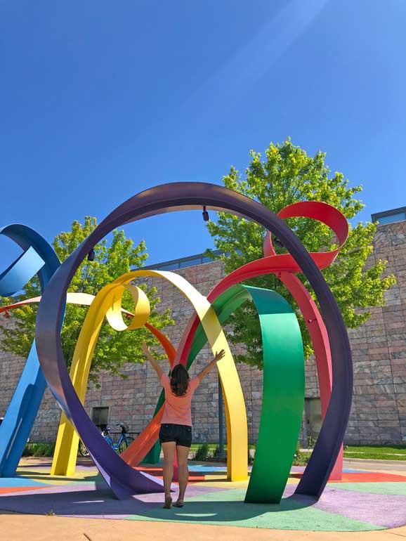 Joslyn sculpture garden Omaha