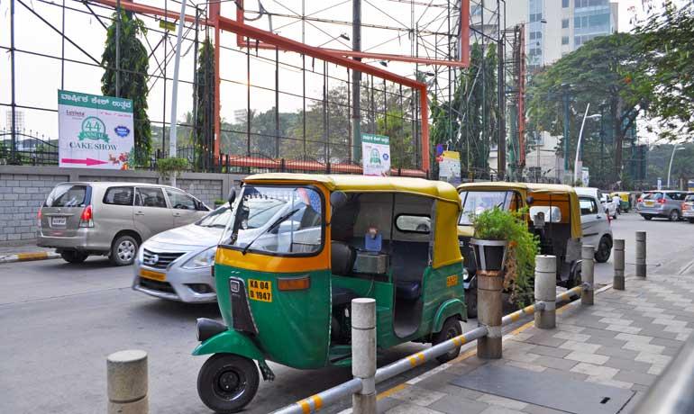 things to do in Bangalore - ride a tuk tuk