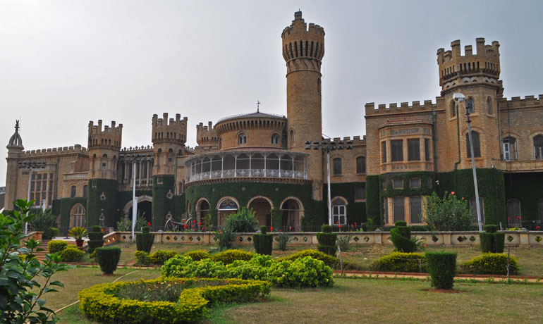 beautiful Bangalore Palace is a must-see when going to Bangalore