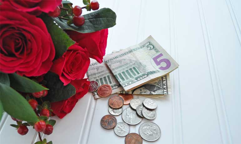 better money decisions cash and flowers