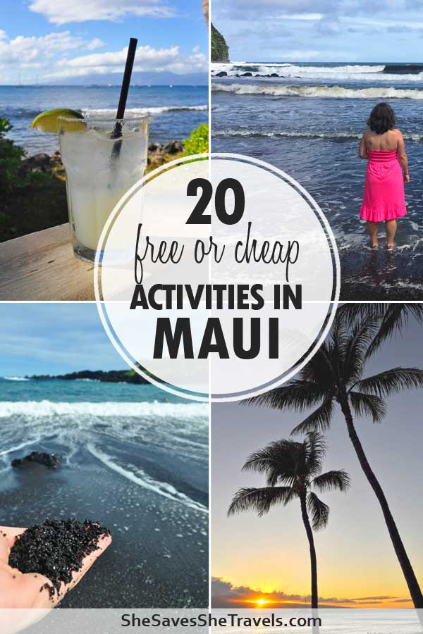 20 free or cheap activities in Maui