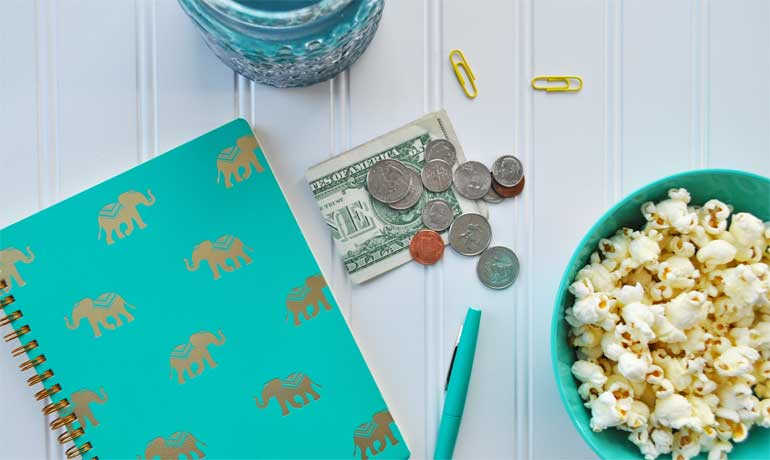 why is saving money important cash with desk and home items