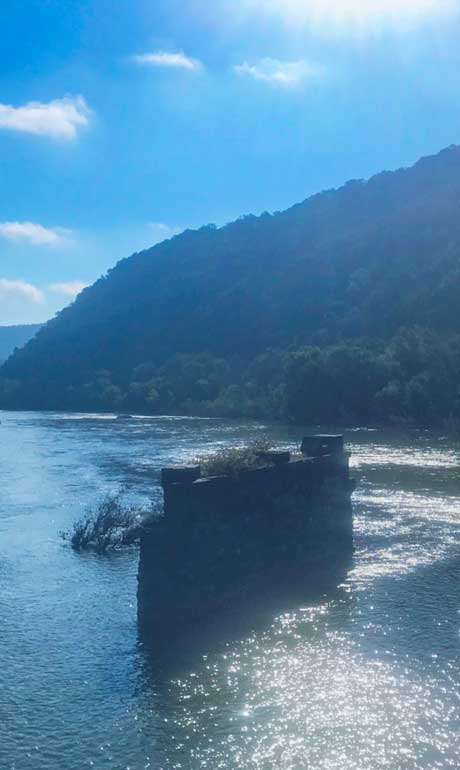 Most underrated destinations - Shenandoah River Harpers Ferry