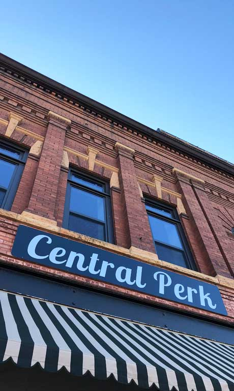 central perk coffee house traditional architecture