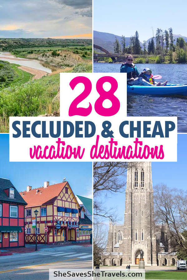 28 underrated vacation destinations