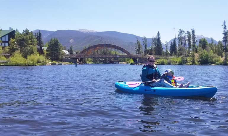 kayaking Grand Lake Colorado best unknown vacation spots in the us