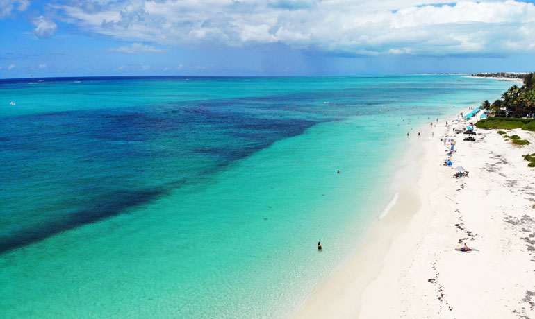 Turks and Caicos on a budget overlooking Bight Beach