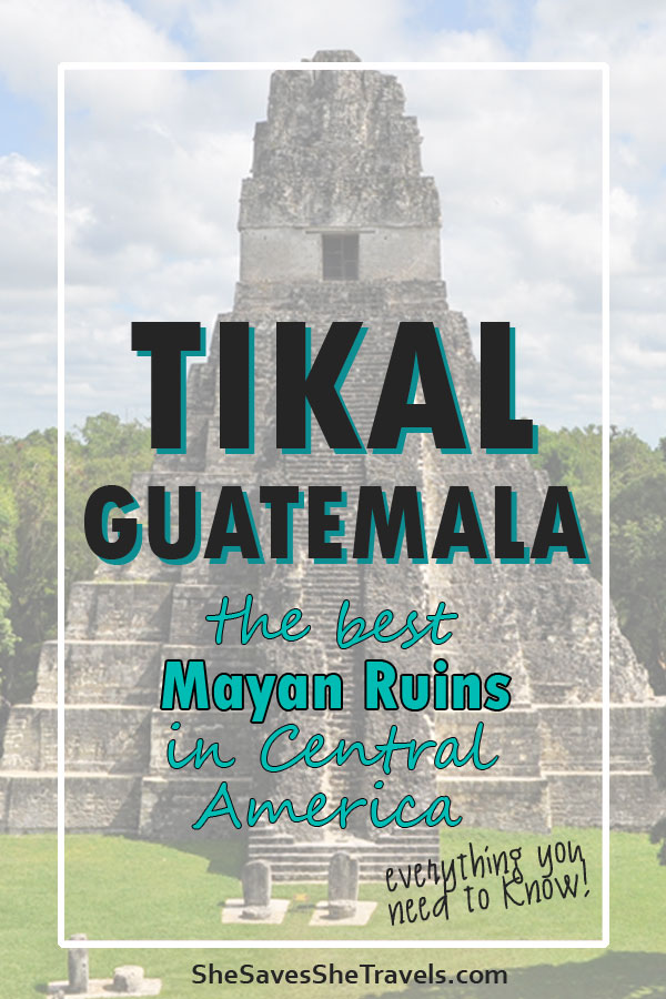 the best Mayan ruins in Central America
