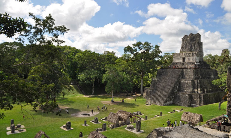 Tikal Guatemala - Grand Plaza & Temple 2