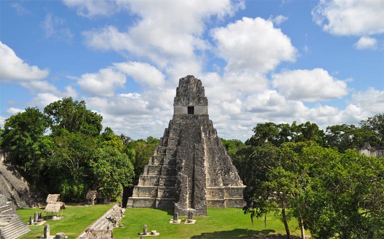 Visiting Tikal Ruins Tikal Temple 1