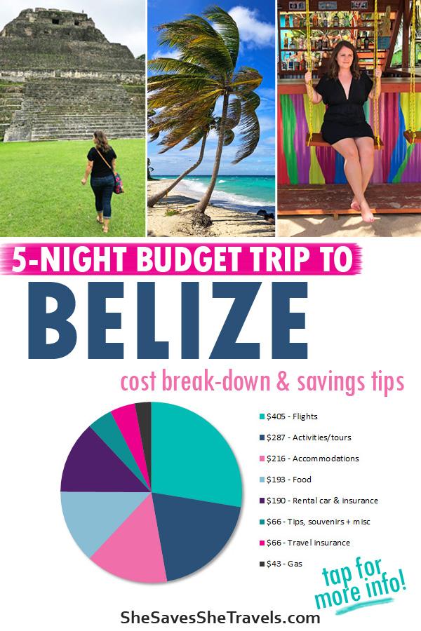 5-night budget trip to Belize