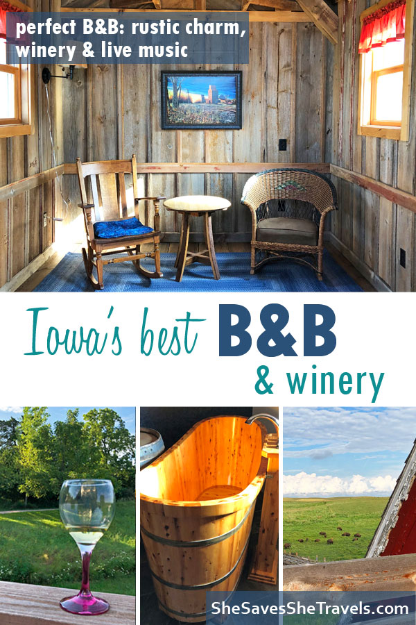 Iowa's best B&B and winery