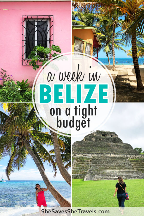 a week in Belize on a tight budget