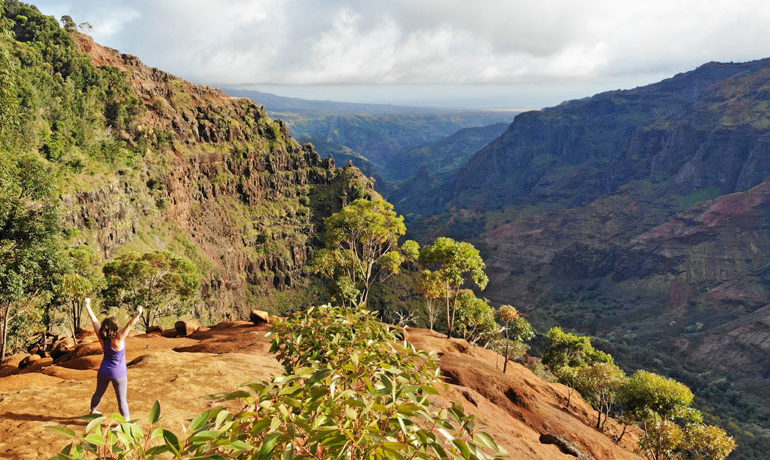 Waimea Canyon Trail Overlook