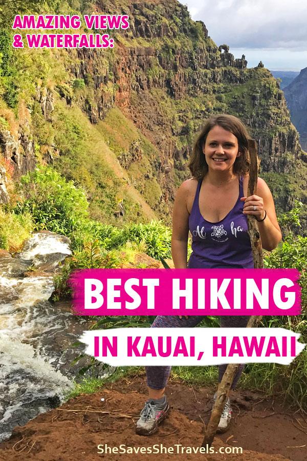 amazing views and waterfalls best hiking in Kauai, Hawaii