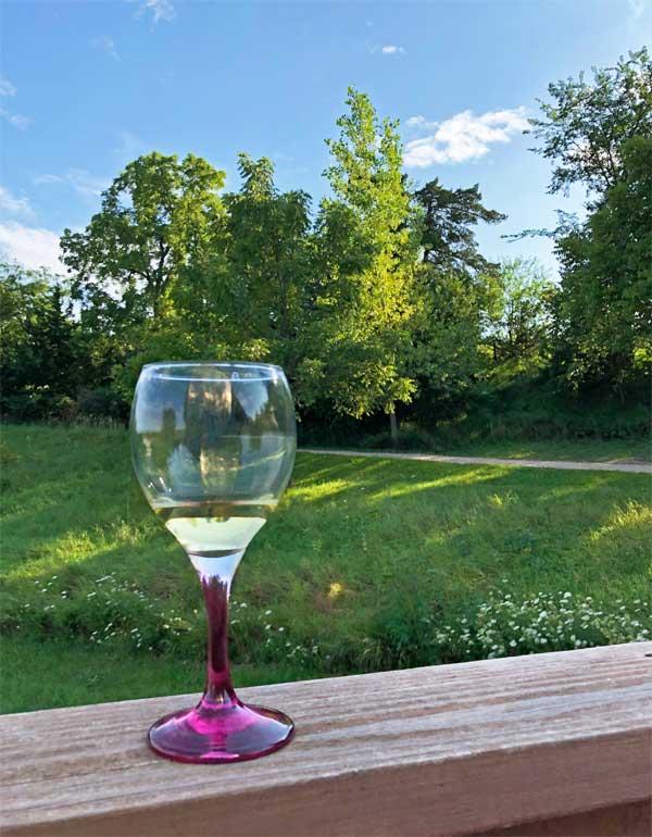Wine tasting at Little Swan Lake Winery