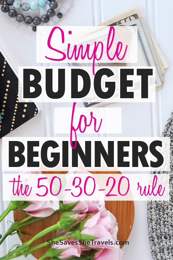 simple budget for beginners