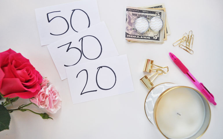 50 30 20 budgeting printables