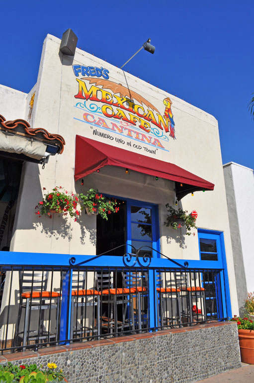 Fred's Mexican Cafe and Cantina Old Town San Diego