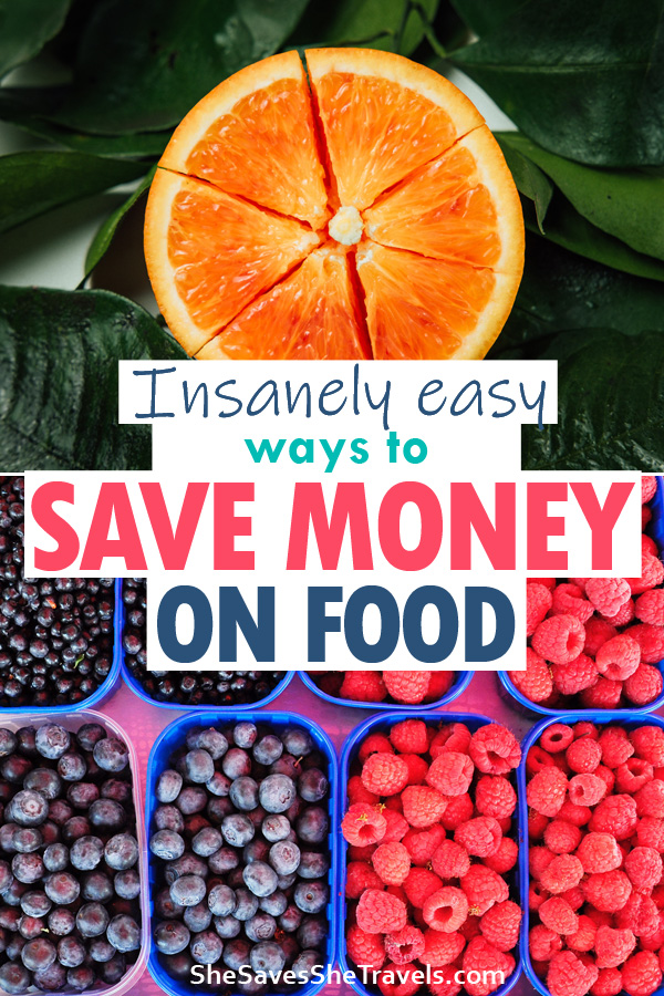 insanely easy way to save money on food