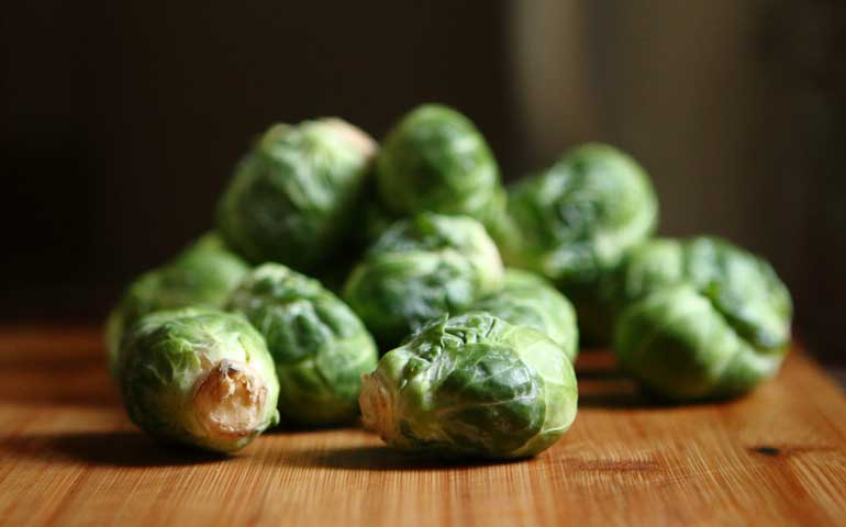 waste less veggies - brussel sprouts