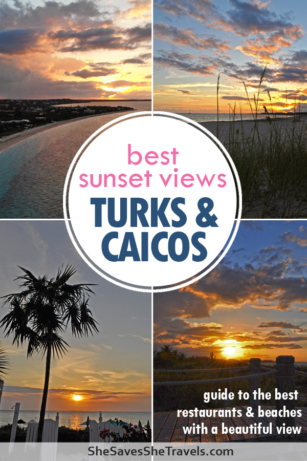 best sunset views Turks & Caicos