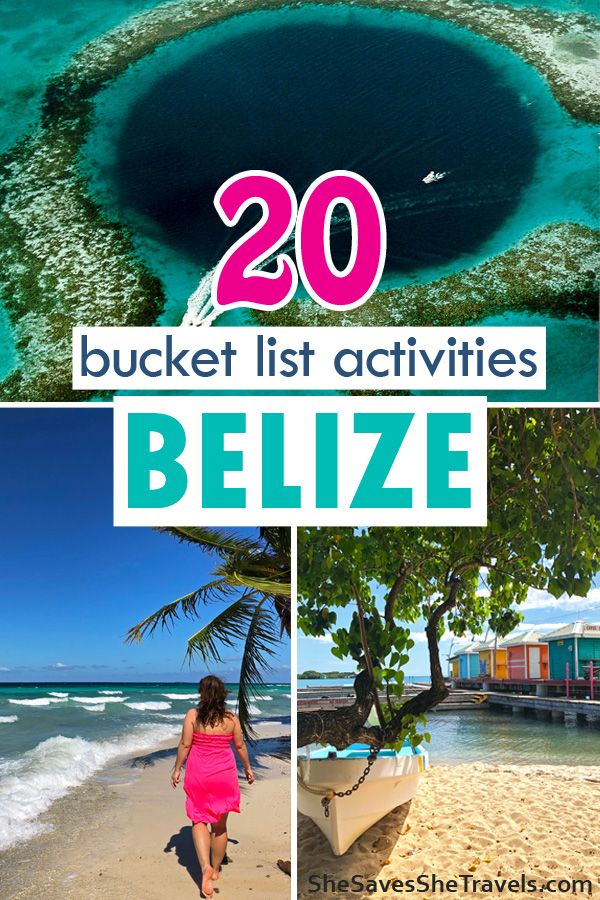 20 bucket list activities in Belize
