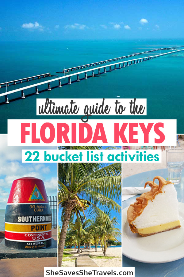ultimate guide to the Florida Keys 22 bucket list activities