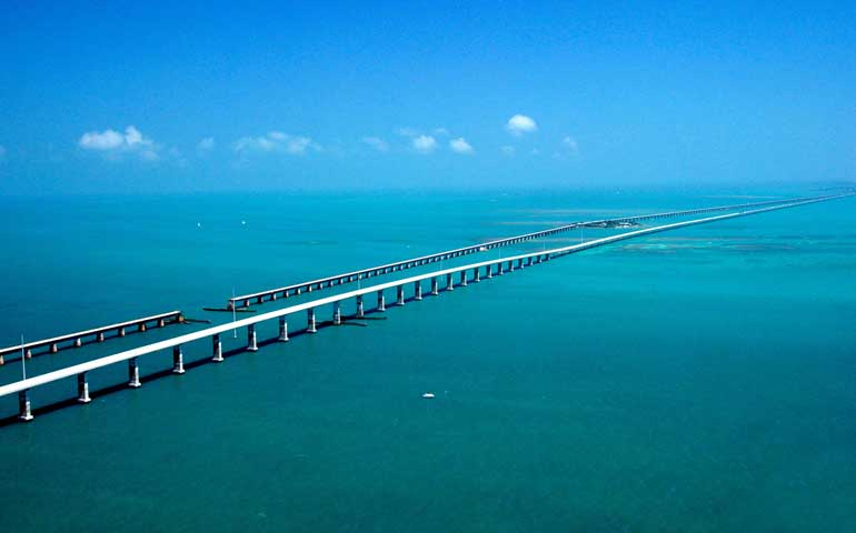 7 mile bridge Key West to Miami