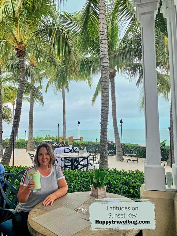 Latitudes restaurant on Sunset Key