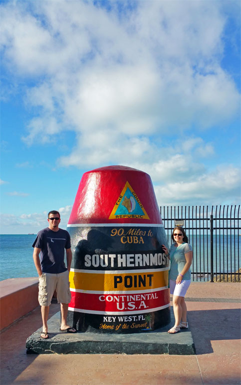 southernmost point continental USA