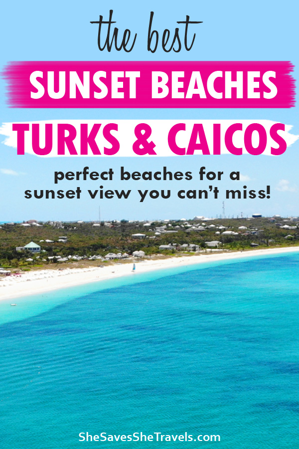 the best sunset beaches turks and caicos