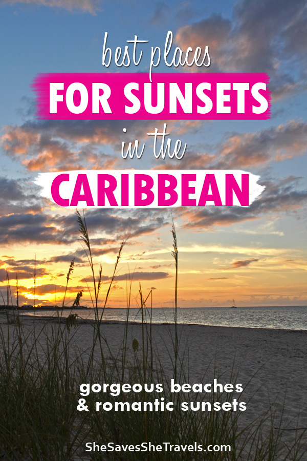 best plaes for sunsets in the Caribbean