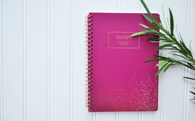 notebook for tracking expenses