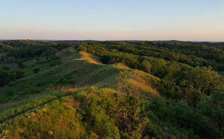 Loess Hills road trip overlook