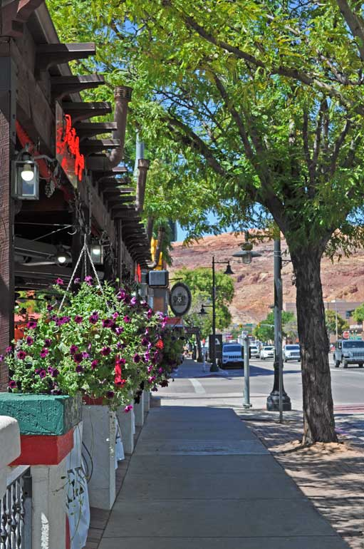 downtown moab utah