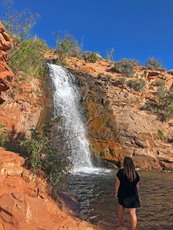faux falls moab utah